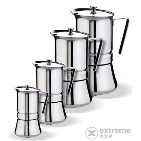 Inox kotyogós 2 3 személyes kávéfőző