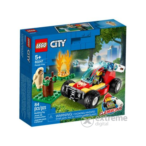 LEGO® City Fire 60247 Erdőtűz