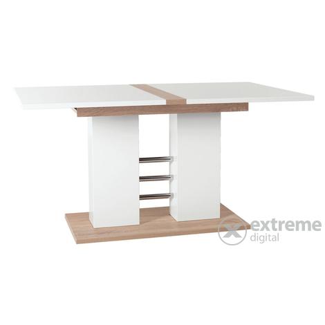 Alexa 140-180x90cm-es kihúzható étkezőasztal, fehér (20816255 ...