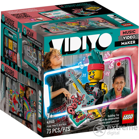 LEGO® VIDIYO™ 43103 Punk Pirate BeatBox