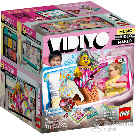 LEGO® VIDIYO™ 43102 Candy sellő BeatBox