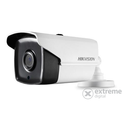 Hikvision DS-2CC12D9T-IT3E kültéri, analóg csőkamera (2MP, 3,6mm, IR40m, ICR, IP67, WDR, 12VDC/PoC)