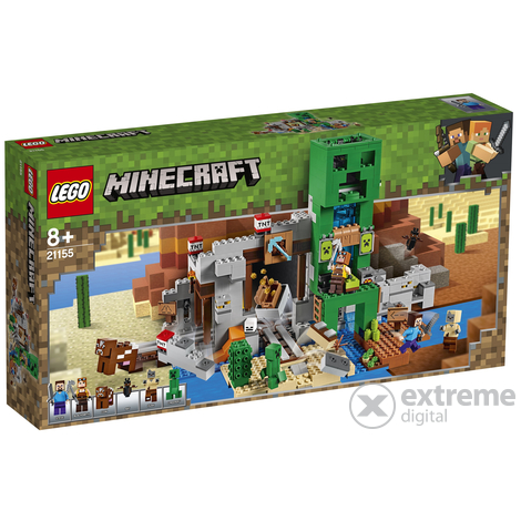 LEGO® Minecraft™ 21155 A Creeper™ barlang