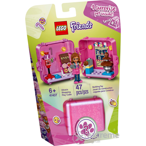 LEGO® Friends 41407 Olivia shopping dobozkája