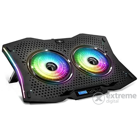 Spirit of Gamer Airblade 1000 RGB notebook hűtőpad, 17
