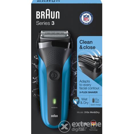 Braun Series 3 310s Wet Dry férfi borotva  d5ee5f3109