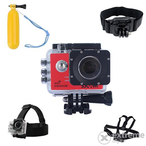 Camera Sport SJCAM SJ 5000X Elite Rosu