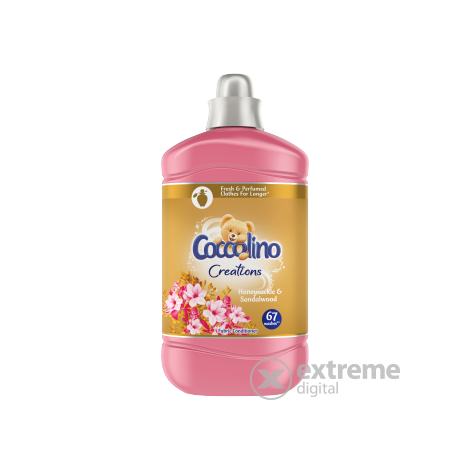 Coccolino öblítőkoncentrátum, Honeysuckle, 4x1680 ml