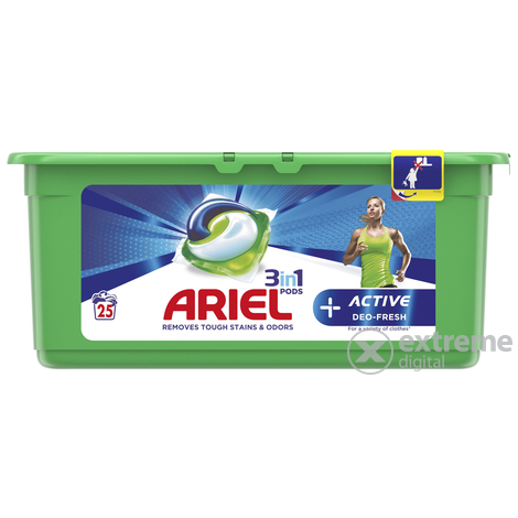 Ariel Active 3in1 mosókapszula, 25 db