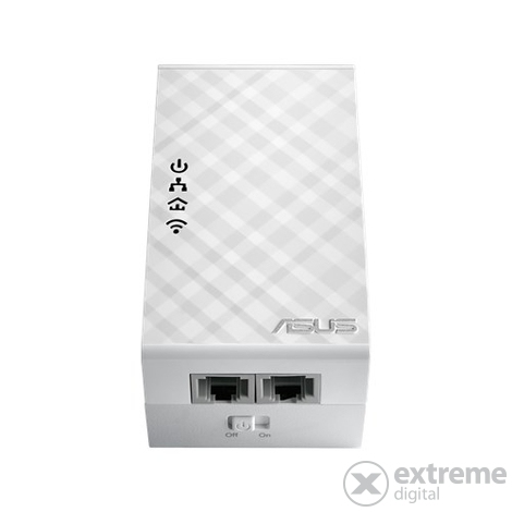 Asus PL-N12 AV500 Mbps WIFI powerline adapter kit