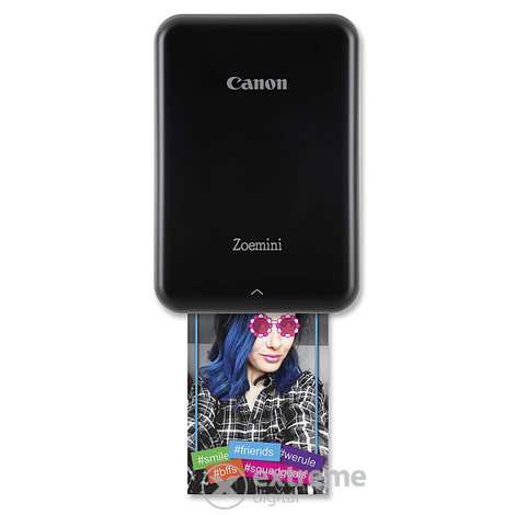 CANON Zoemini Photo Printer PV-123, fekete