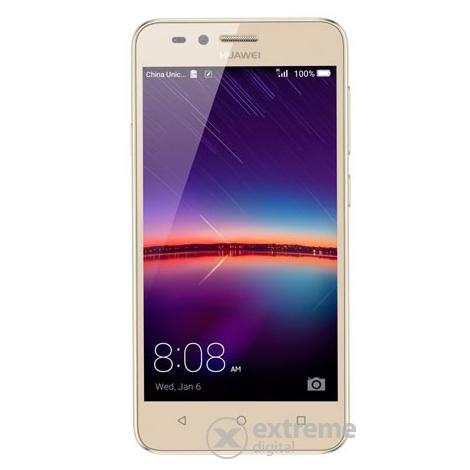 Huawei Y3 II Dual SIM kártyafüggetlen okostelefon, Gold