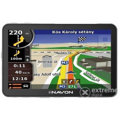 igo8 ausztria térkép letöltés Navon N670 Plus navigáció + iGO8 Európa térkép (40 ország  igo8 ausztria térkép letöltés