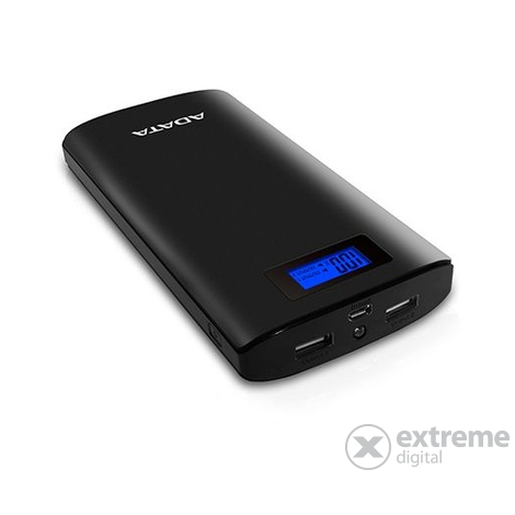 Adata AP20000 Power Bank 20000mAh, crni