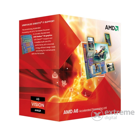 AMD Phenom II A6 X4 3670K BOX NEW procesor