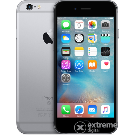 Мобилен телефон Apple iPhone 6S 64GB, Space Grey