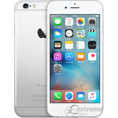 Мобилен телефон Apple iPhone 6S 64GB, Сребрист