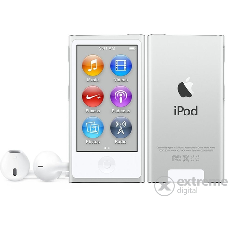 Apple iPod nano, сребрист (mkn22hc/a)