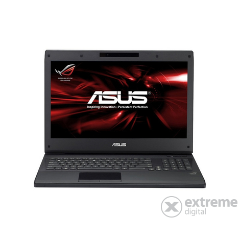 Notebook Asus G74SX-TZ134Z + Windows 7 Ultimate 64bit + geantă şi mouse