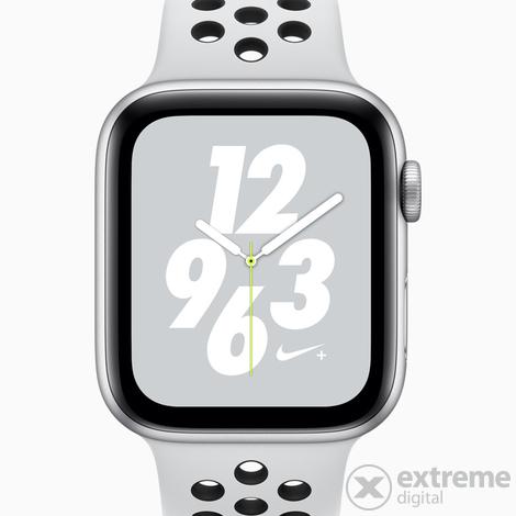 Apple Watch Nike+ Series 4 GPS, 40mm, carcasa aluminiu ...