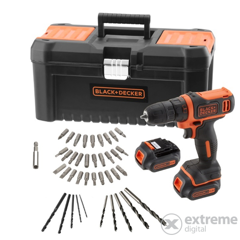 Black & Decker BDCDD121BKA (10,8V)
