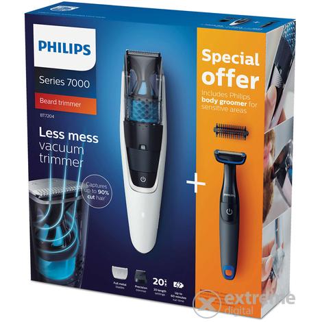 Philips BT7204 85 Series 7000 vákuumos szakállvágó  5a12562611
