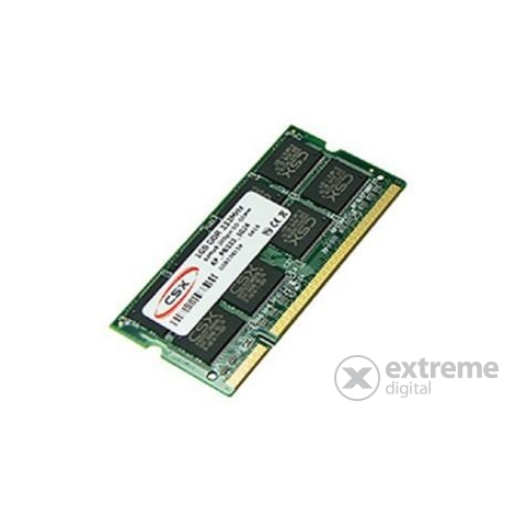 CSX Alpha 2GB DDR3 1333Mhz Standard CSXA-SO-1333-2G RAM notebook