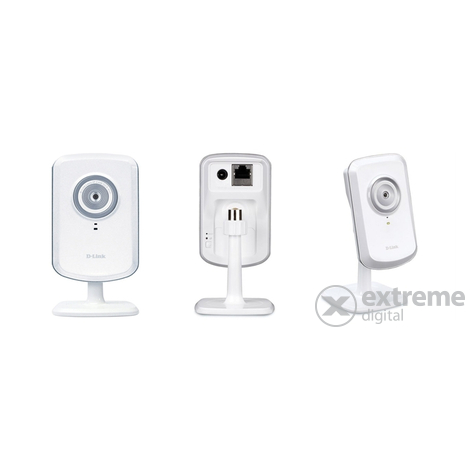 "D-Link DCS-930L ""mydlink"" Wireless N Home Network kamera"