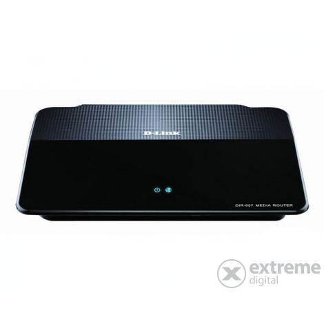 "D-Link DIR-657 300Mbps Wireless N HD Media Router + DCS-932L ""mydlink"" wireless kamera"