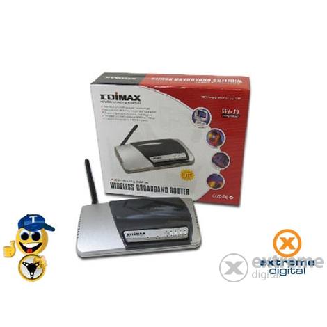 Router + etichetă Edimax BR-6204Wg 54Mbps WLAN