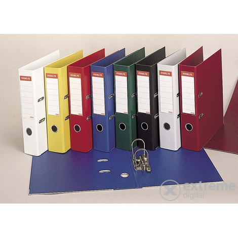 Biblioraft Esselte 75mm, albastru