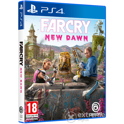 Far Cry New Dawn PS4 játékszoftver