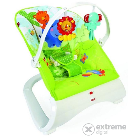 Бебешки шезлонг rainforest friends Fisher Price