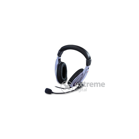 Genius HS-04A mikrofonos fejhallgató  51f49c9a3c