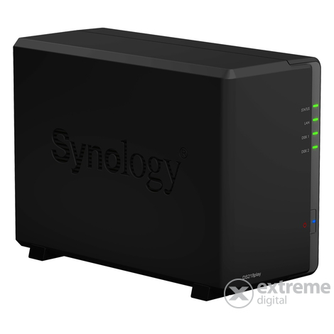 Synology DiskStation DS218play 2x SSD/HDD NAS
