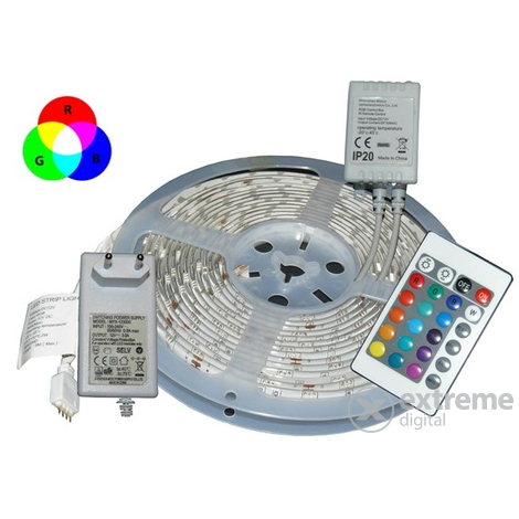 Global MT-5M5050RGB30 LED szalag, 5m