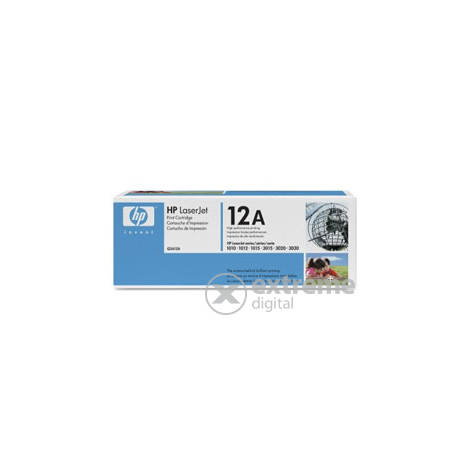 HP LaserJet Toner Cartridge Q2612A negru