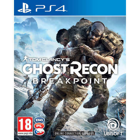 Tom Clancy's Ghost Recon Breakpoint PS4 játékszoftver