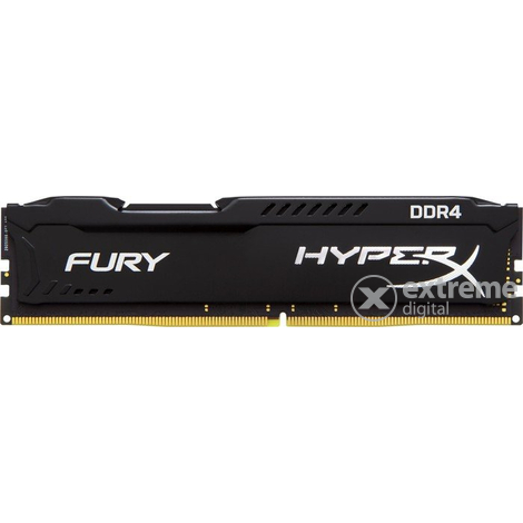 Kingston HyperX Fury Black 8GB DDR4 2133MHz CL14 DIMM memória (HX421C14FB2/8)