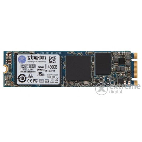 Kingston M.2 SATA 480GB SSD SM2280S3G2/480G