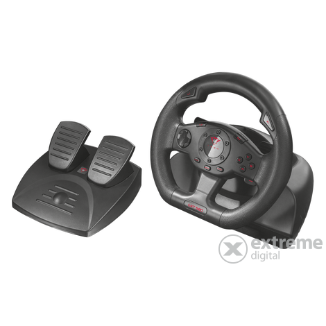 Trust GXT580 PC/PS3 Vibration Feedback Racing Wheel