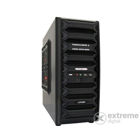"Carcasă PC LC Power Case-Pro-921B ON ""Warmachine  X"" Midi"