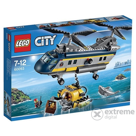 LEGO® City Deep Sea Duboko more – helikopter 60093