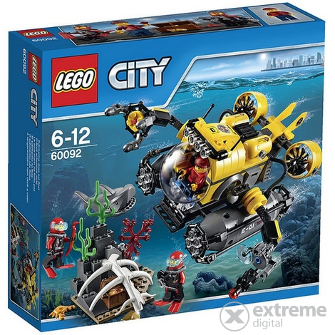 LEGO® City-Deep Sea Submarine set 60092