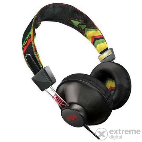 Marley EM-JH011-RA Positive Vibration Rasta fejhallgató  3db8961612