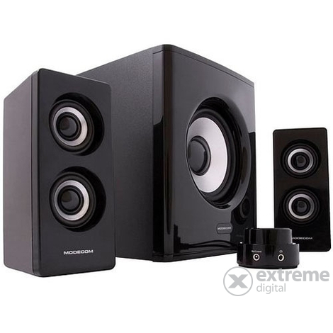 Sistem audio 2.1 ModeCom MC-2111, negru