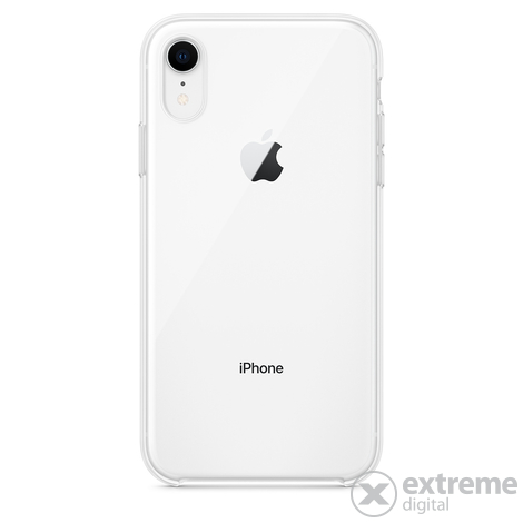 Apple iPhone XR szilikon tok, átlátszó