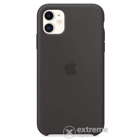 Apple iPhone 11 szilikontok, fekete (mwvu2zm/a)