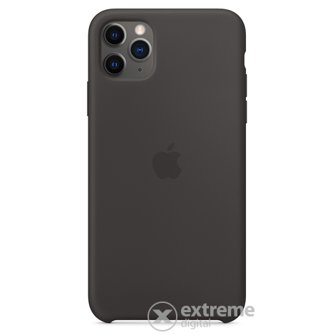 Apple iPhone 11 Pro Max szilikontok, fekete (mx002zm/a)