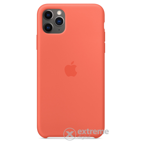 Apple iPhone 11 Pro Max szilikontok, klementin (mx022zm/a)